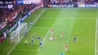 Burak Y�lmaz'un gol� - �zle