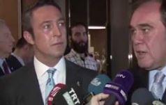 Yıldırım Demirören, Ali Koç'u konuşturmadı