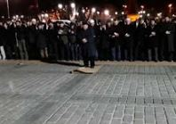 Ayasofya'da gece namazı kıldılar