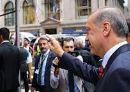 Cumhurba�kan� Erdo�an b�yle kar��land�