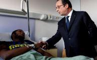 Hollande, coplu tecavüze uğrayan gence gitti