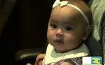 6 ayl�k ikizler ilk kez annelerinin sesini duydu