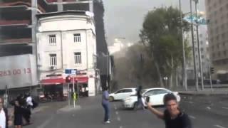 Taksim'deki iskele b�yle ��kt�