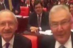 Baykal, Kılıçdaroğlu'nun koltuğuna oturdu