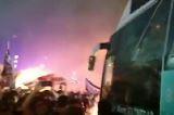 Beşiktaş'ın şampiyonluk kutlaması - Video