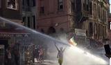 ��te Taksim'deki olaylar�n g�r�nt�leri