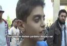Suriyeli �ocuktan d�nyaya mesaj - Video