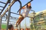 Yelena Isinbayev, Suriye'de egzersiz yaptırdı