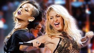 Rihanna - Shakira d�eti burada