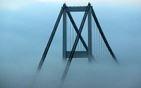 İstanbul'da kartpostallık sis kareleri