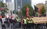 Taksim'de TOMA'l� m�dahale