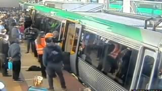 Trene binerken korkun� dakikalar