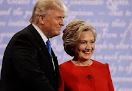 Donald Trump ile Hillary Clinton kap��t�