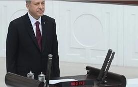 Tayyip Erdo�an b�yle yemin etti - �zle