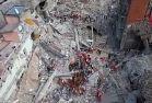 �talya'daki depremin y�k�m� havadan g�r�nt�lendi